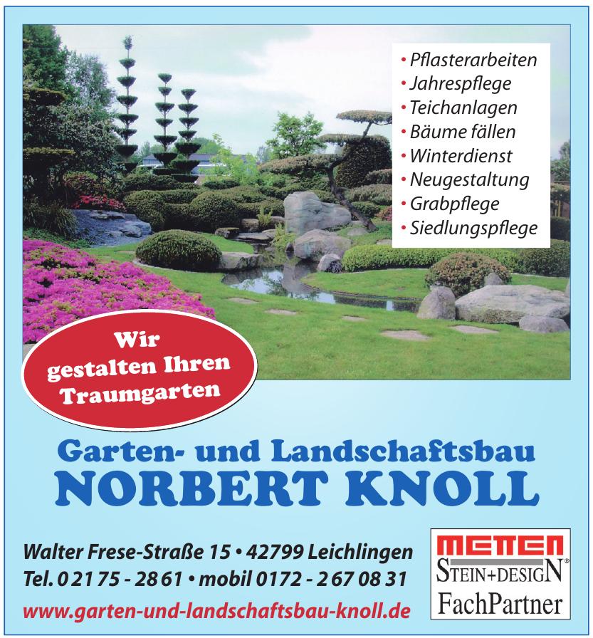 Norbert Knoll Garten- und Lanschaftsbau