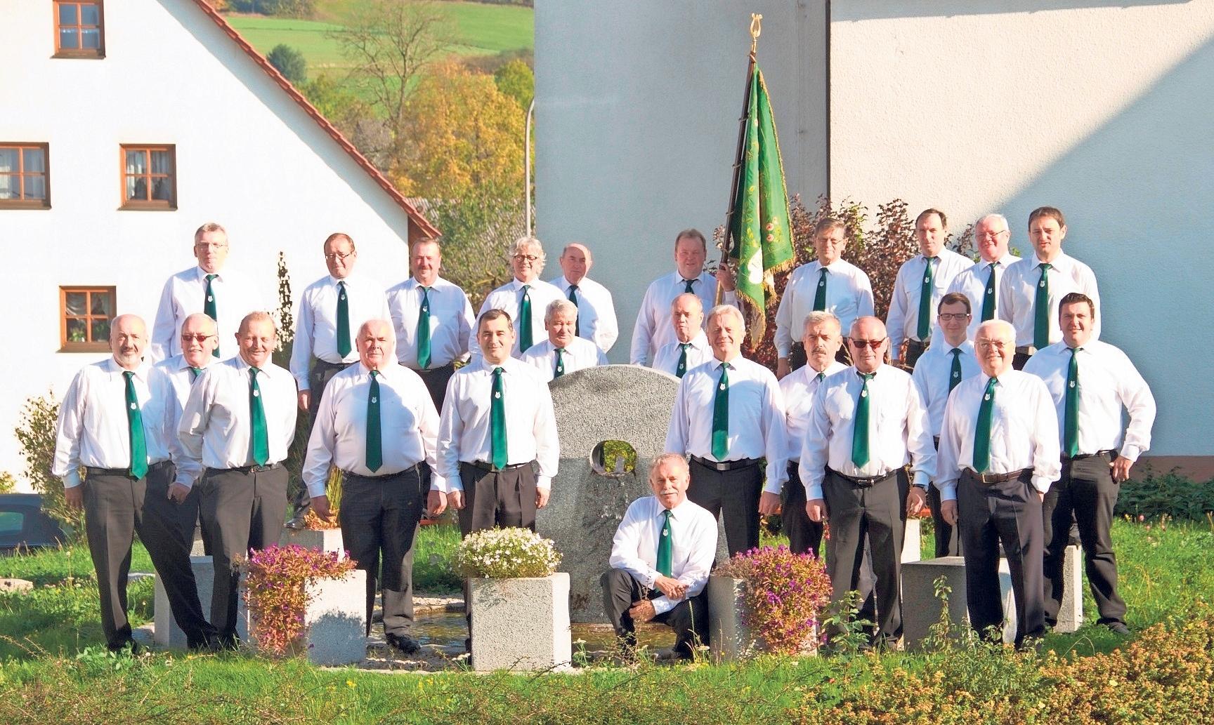 Der Männergesangverein Cäcilia Körzendorf ist heuer Ausrichter der Zeltkerwa. Foto: Dieter Jenß