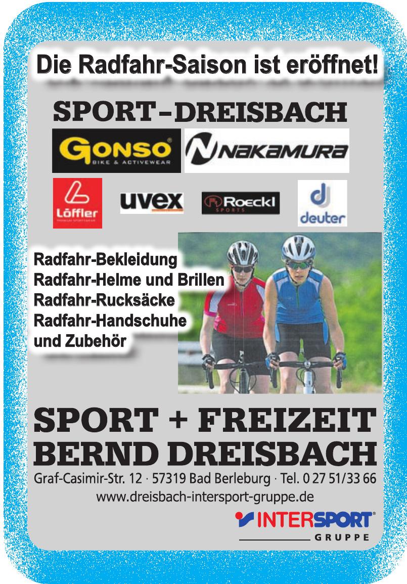 Sport & Freizeit Bernd Dreisbach Inh. Bernd Dreisbach