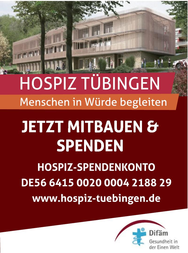 Difäm-Spendenkonto Hospiz
