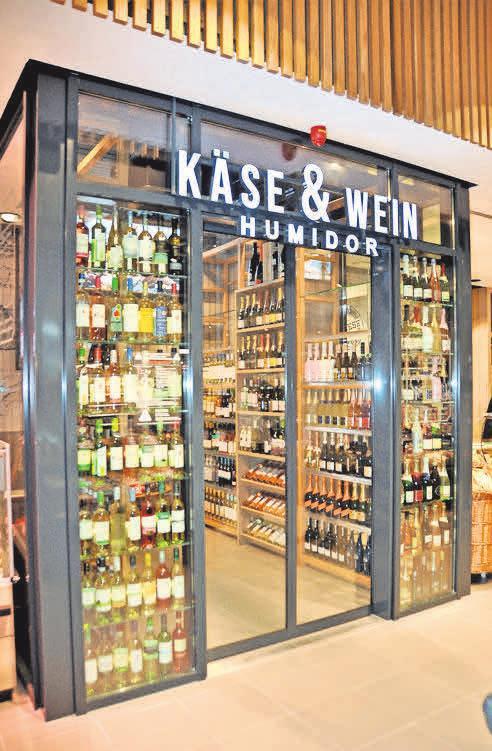 Der Käse- und Weinhumidor ist ein exklusives Angebot im Markt in Arnum.