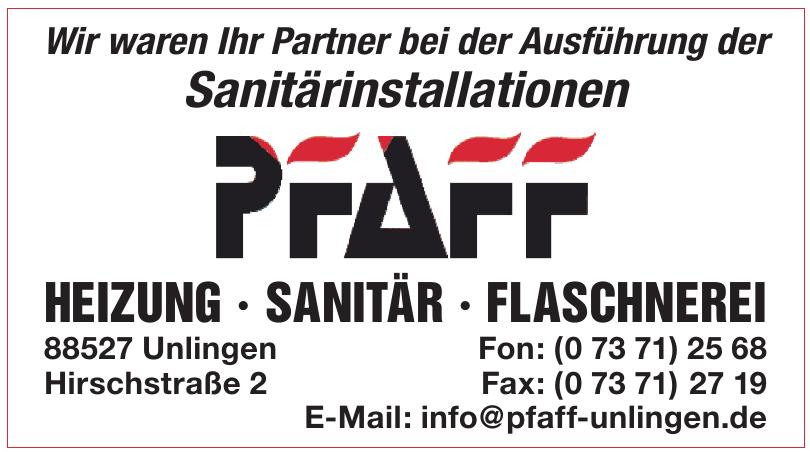 Pfaff Unlingen