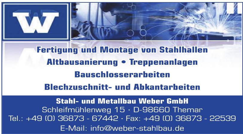 Stahl- und Metallbau Weber GmbH