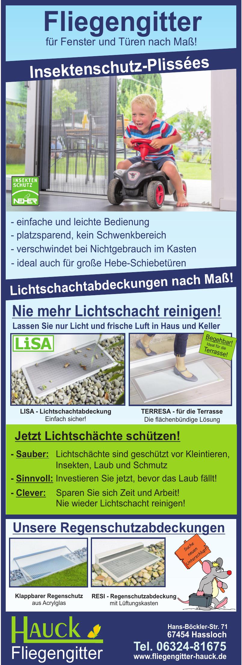 Martin Hauck Fliegengitter e.K.