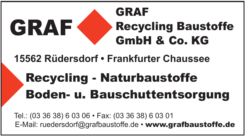 GRAF Recycling Baustoffe GmbH & Co. KG