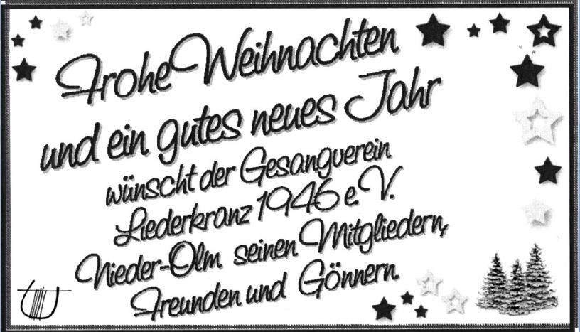 Gesangverein Liederkranz 1946 e.V.