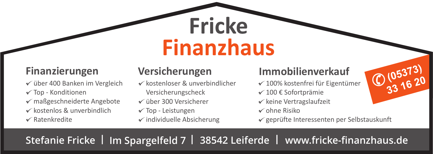 Fricke Finanzhaus