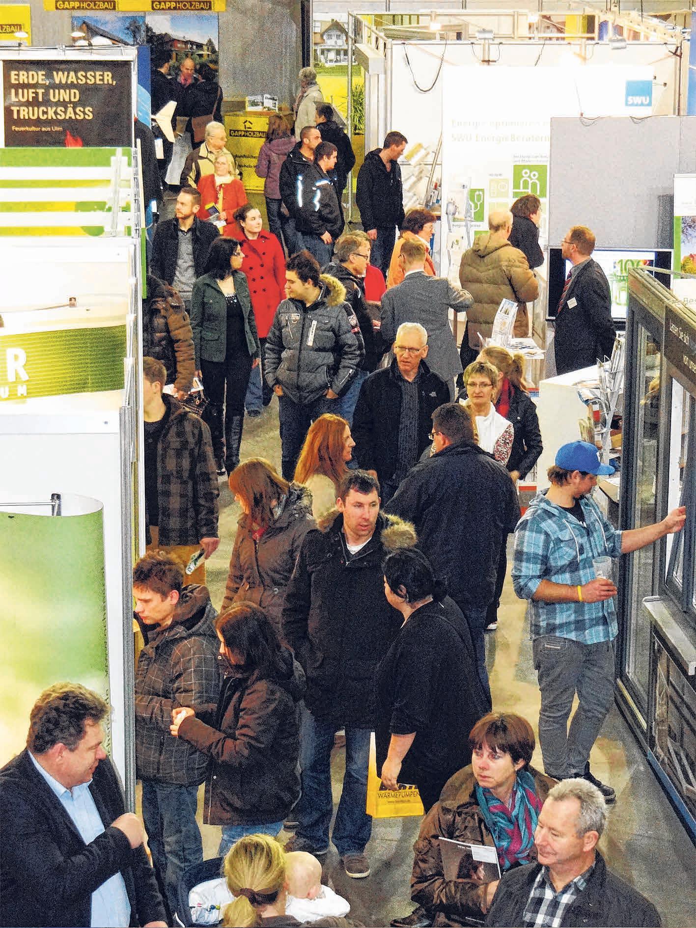 Zahlreiche regionale Fachbetriebe präsentieren sich bei der Bau- und Immobilienmesse meinZuhause! am Samstag und Sonntag von jeweils 11 bis 17 Uhr in Aalen. FOTO: ARCHIV/COLOURBOX.DE