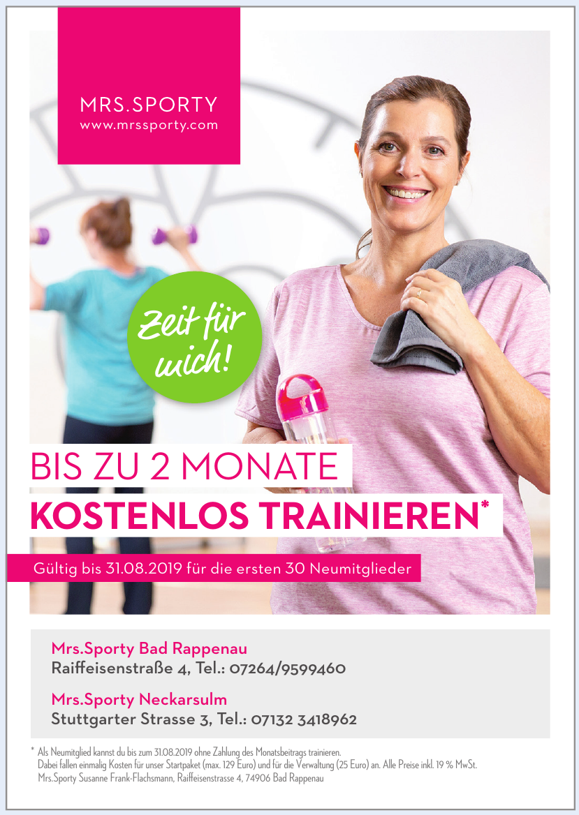 Mrs.Sporty Neckarsulm