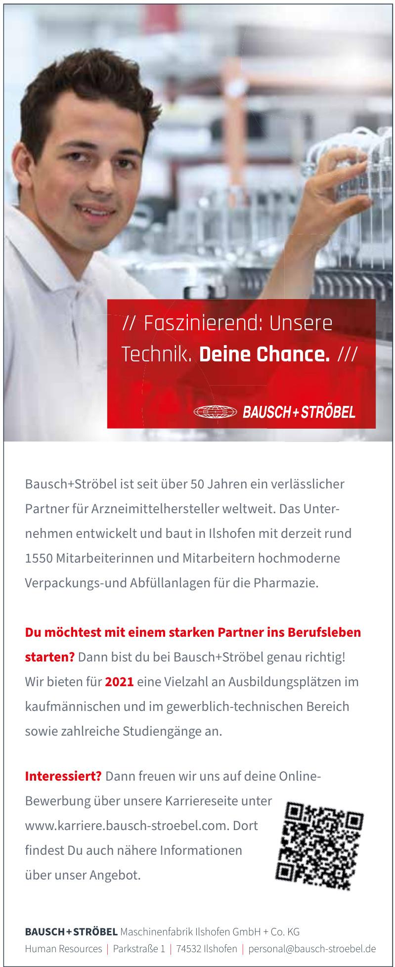 BAUSCH +STRÖBEL Maschinenfabrik Ilshofen GmbH + Co. KG