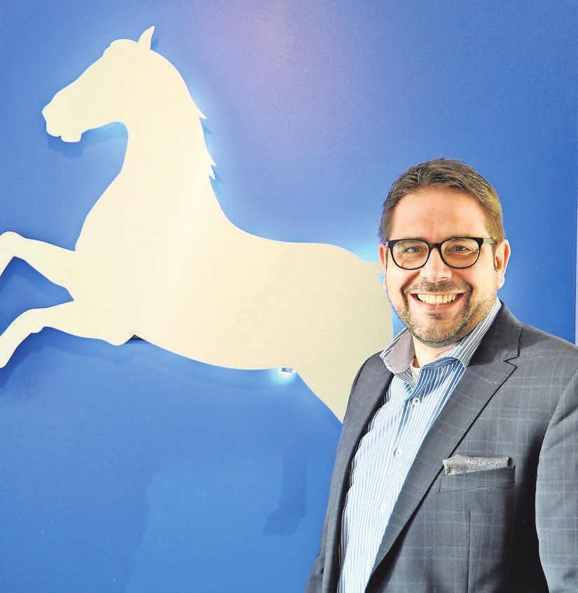 Stefan Korpiun, Inhaber der VGH-Versicherungsagentur in Hemmingen, ist für die Zukunft sehr gut aufgestellt.