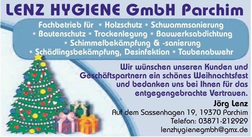Lenz Hygiene GmbH Parchim
