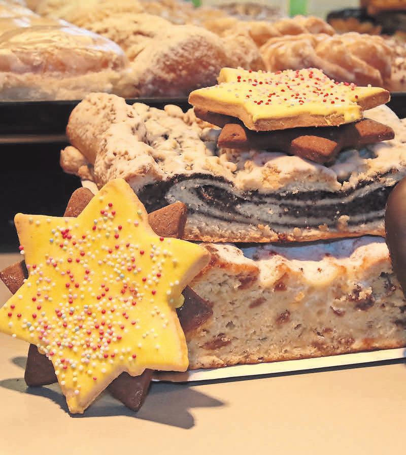 Zum Sortiment der Bäckerei Armster in Kyritz gehören auch Plätzchen und Stollen.