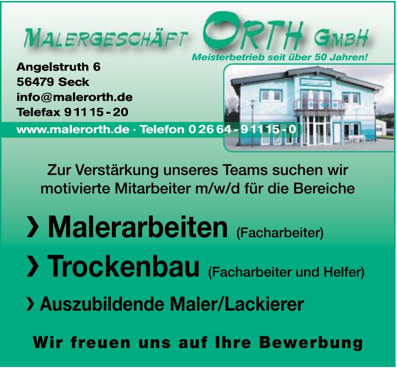 Maler Orth GmbH