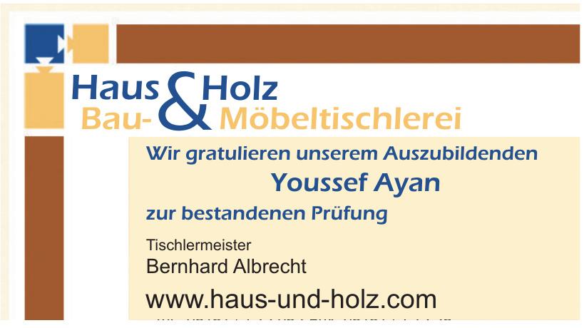 Haus & Holz Bau- & Möbeltischlerei