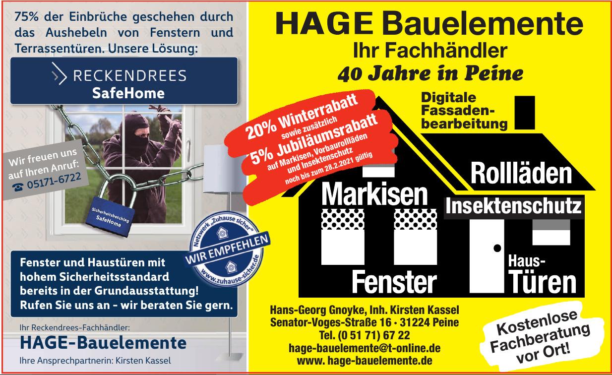 HAGE-Bauelemente