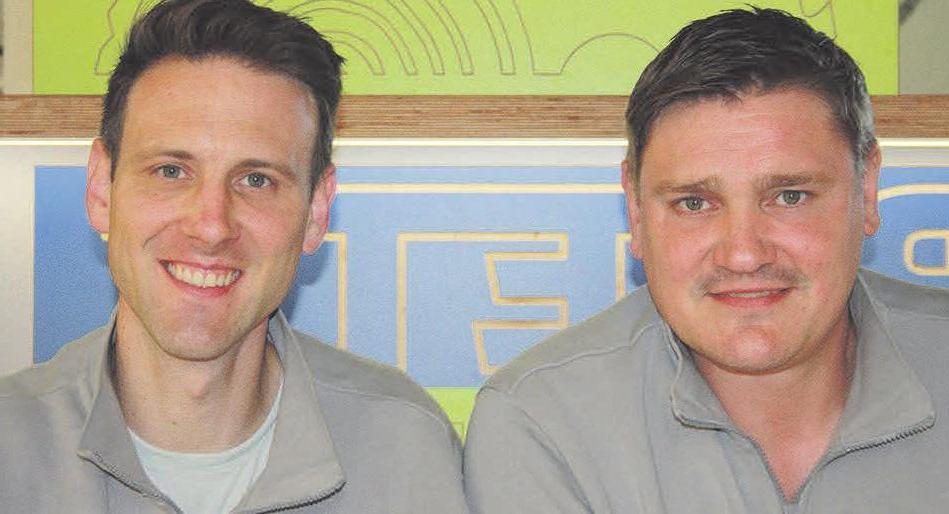 Qualität wird bei Raoul Pieper (links) und Christian Böhm groß geschrieben.