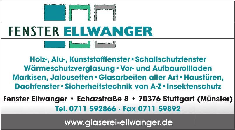 Fenster Ellwanger