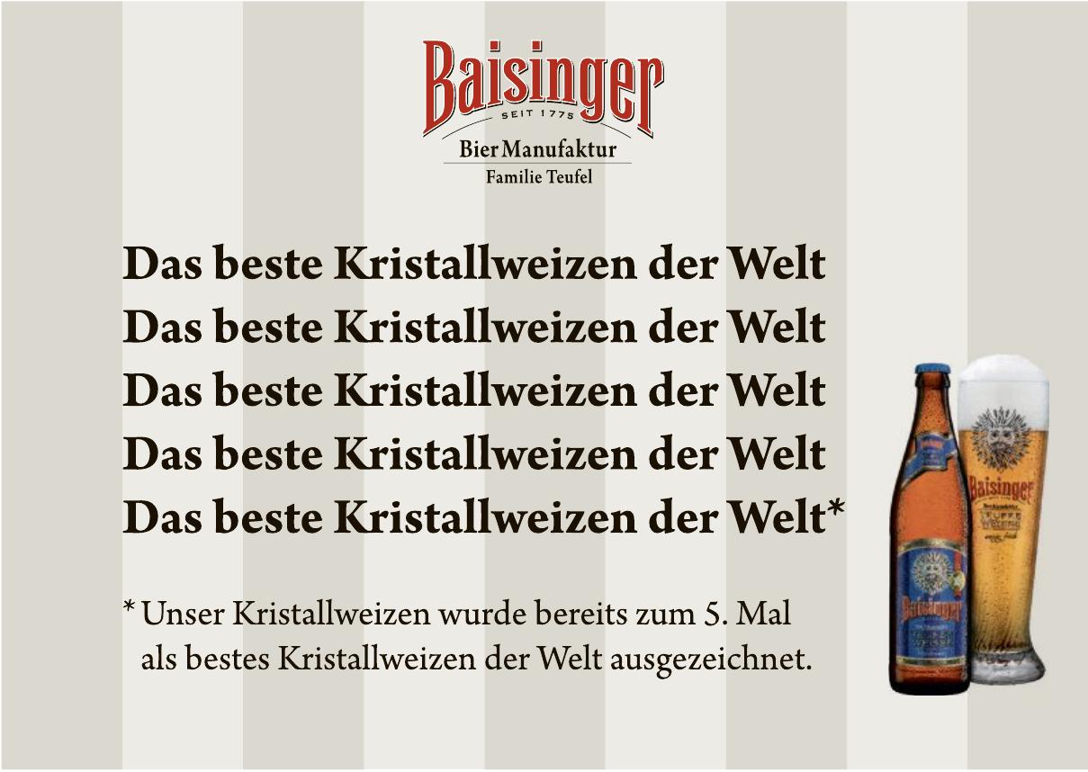 Bier Manufaktur Baisinger