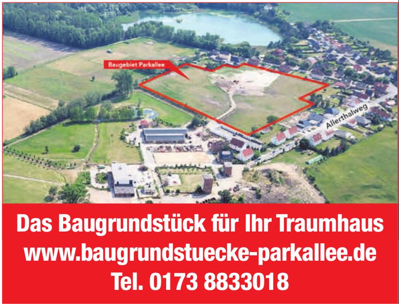 Baugrundstücke Parkallee Grasleben