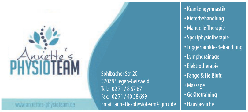 Anniette´s Physioteam