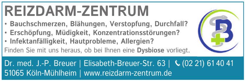 Reizdarm-Zentrum - Dr. med. J.-P. Breuer