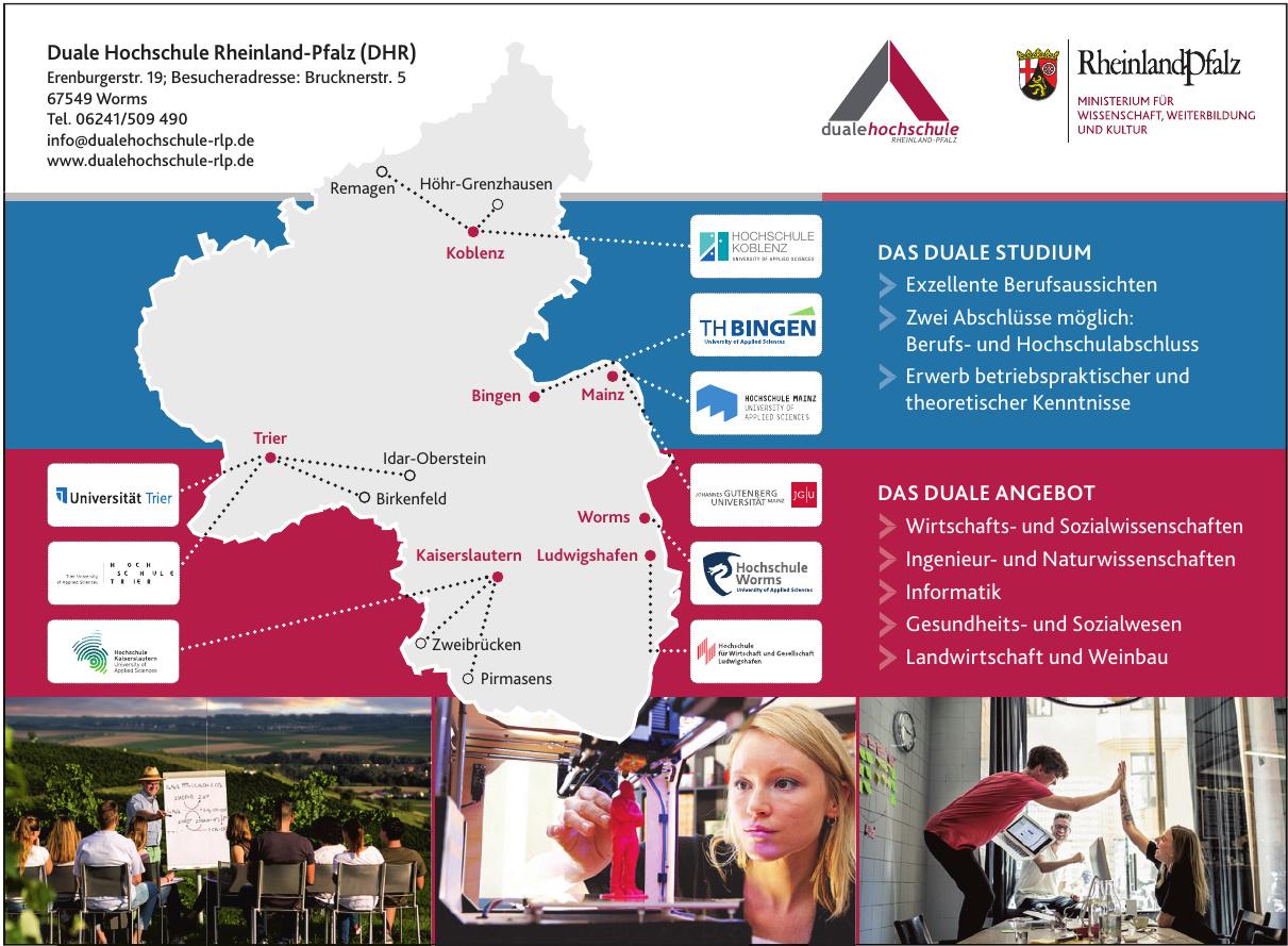Duale Hochschule Rheinland-Pfalz (DHR)