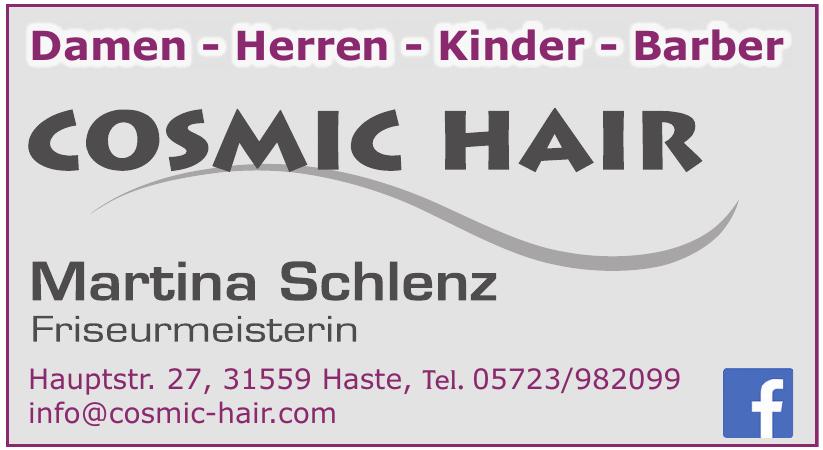 Cosmic Hair Martina Schlenz Friseurmeisterin
