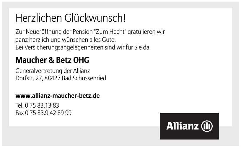 Allianz Agentur Maucher & Betz OHG