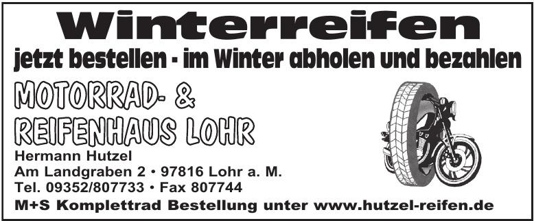Motorrad- & Reifenhaus Lohr Hermann Hutzel