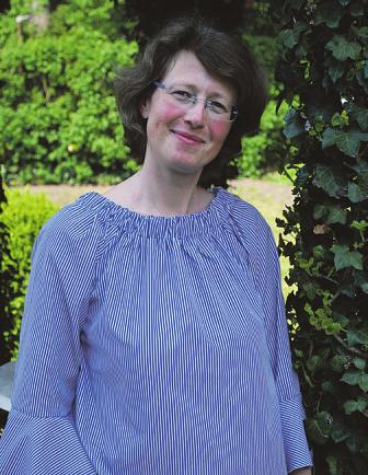 """Sandra Heinecke lenkt den """"Ambulanten Hospizdienst Omega e. V."""" Foto: Tina Jordan"""