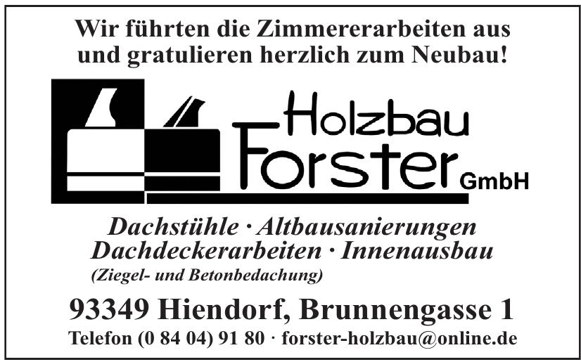 Holzbau Forster GmbH