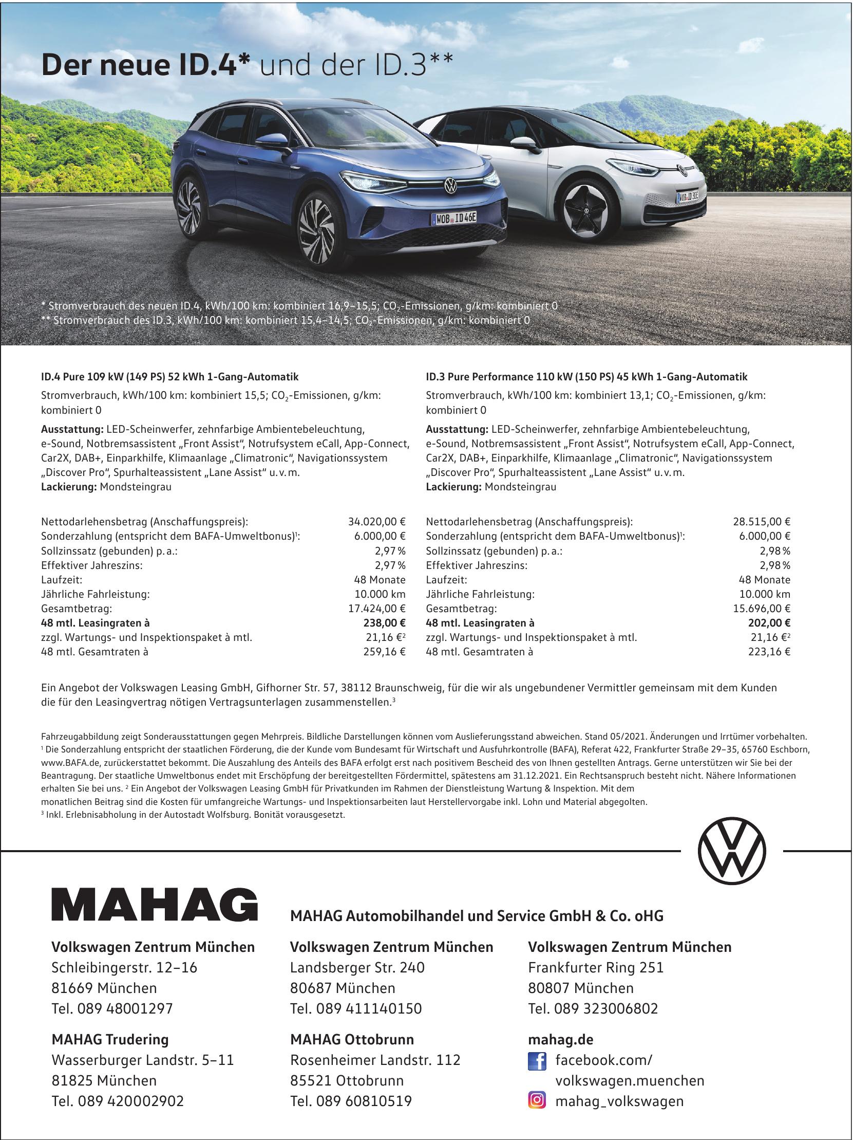 MAHAG Automobilhandel und Service GmbH & Co. oHG