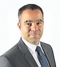 """Daniel Thywissen, Gesellschafter der Firma """"S&P Werbeartikel"""", kennt Bastian noch von früher"""