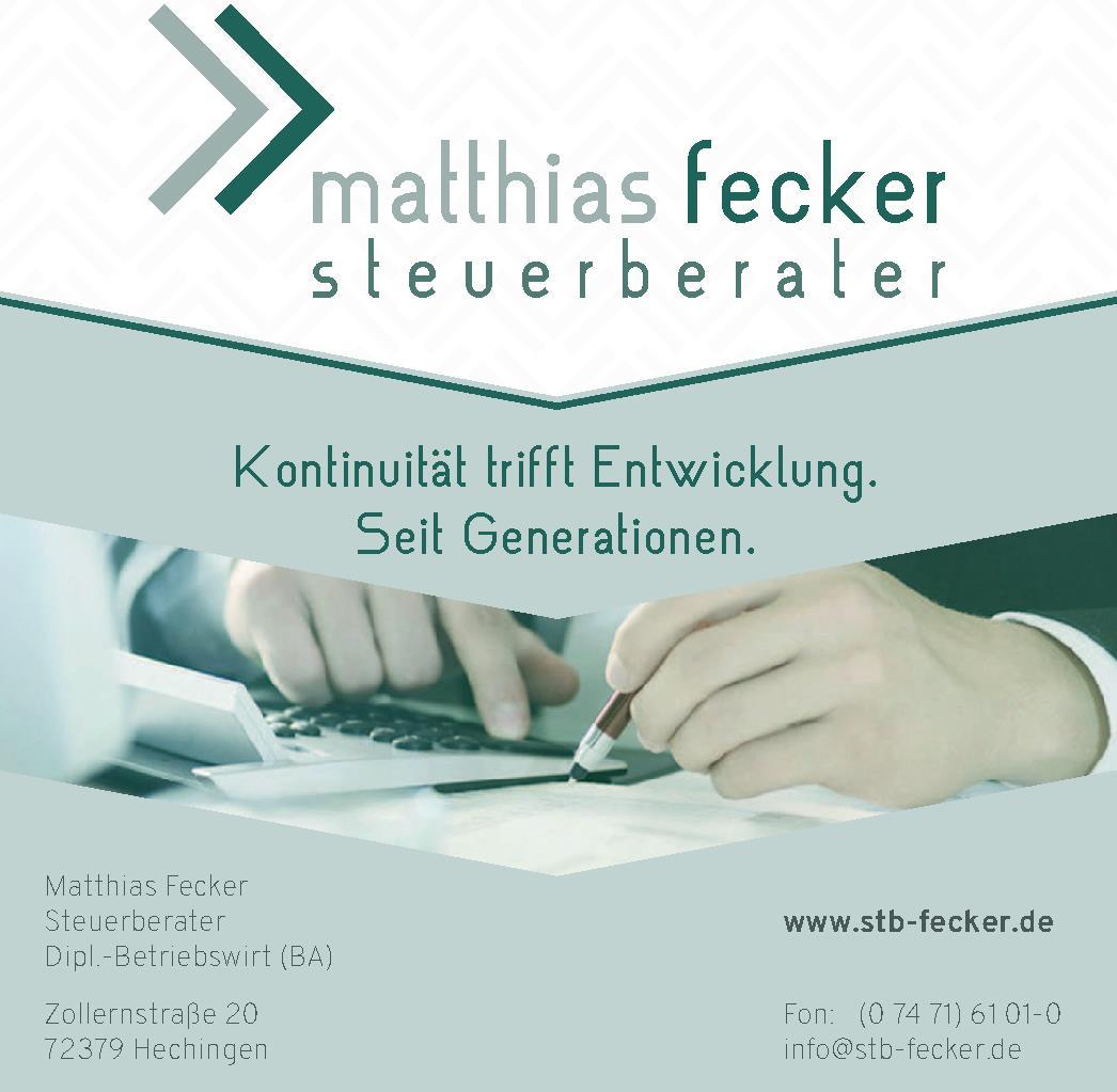 Matthias Fecker Steuerberater