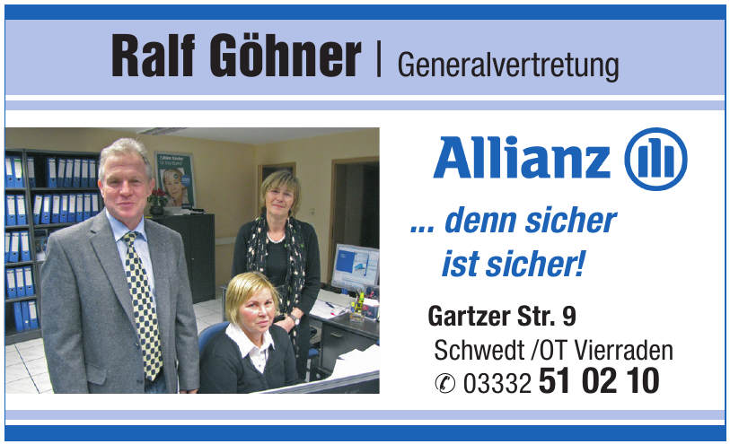 Allianz Ralf Göhner