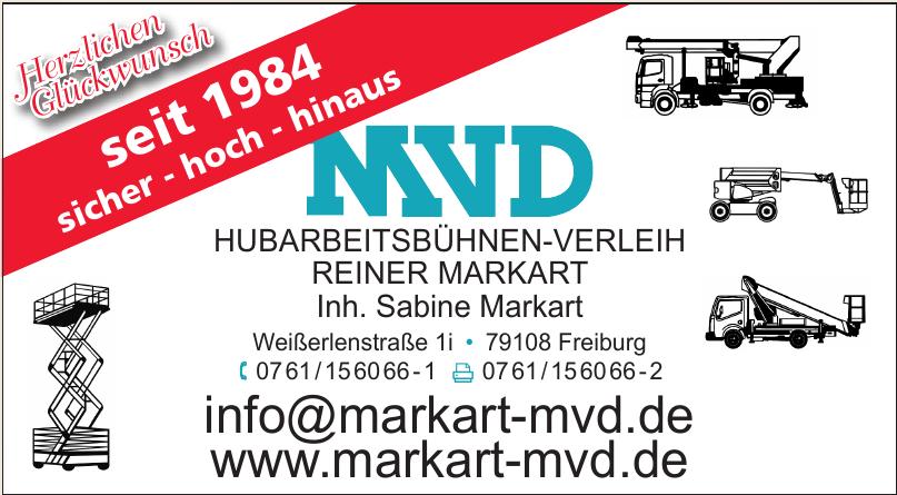 MVD Hubarbeitsbühnen-Verleih Reiner Markart