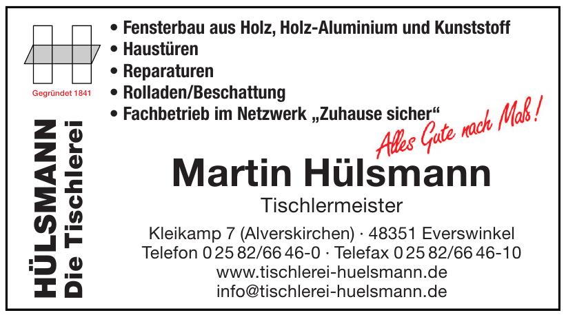 Martin Hülsmann Tischlermeister