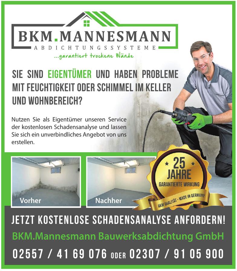 BKM.Mannesmann Bauwerksabdichtung GmbH