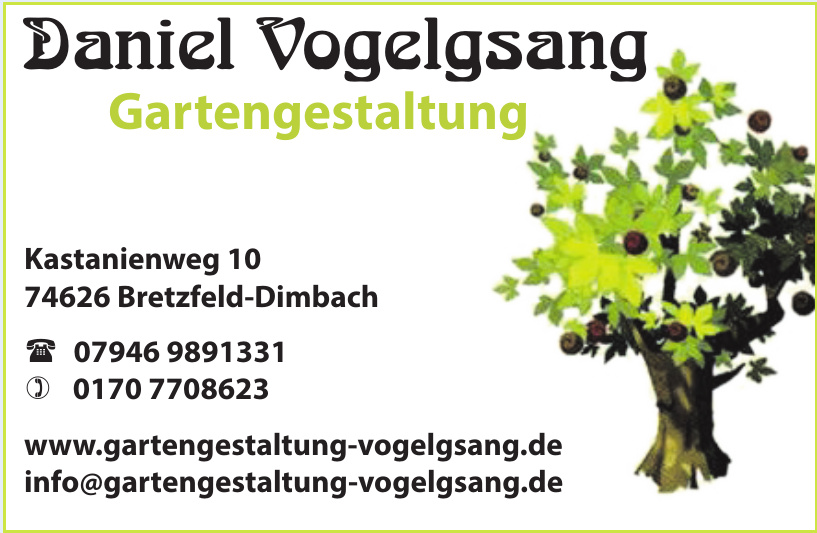 Daniel Vogelgsang Gartengestaltung