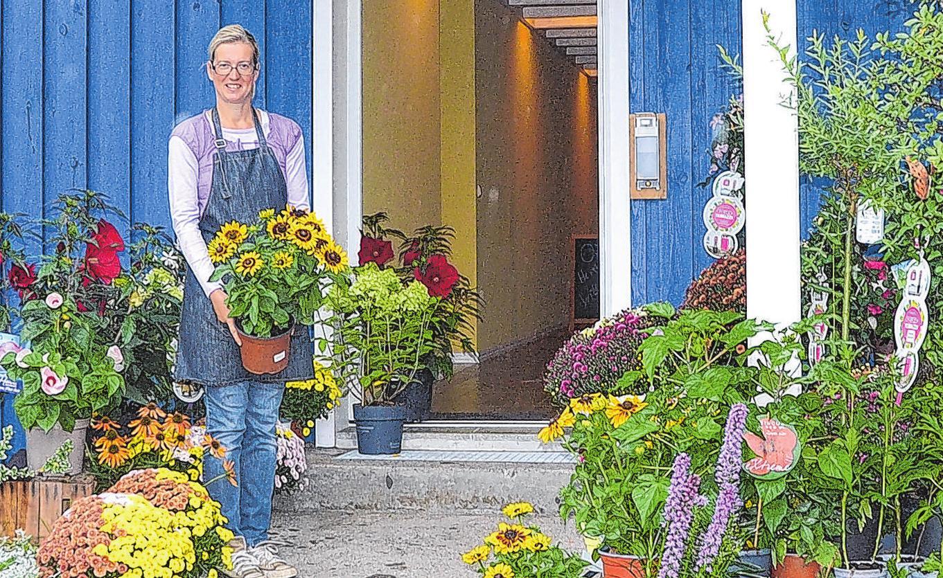 Naturlieb Unverpackt: Floristin Annett Giese bietet mit Naturlieb - Unverpackt im bisher einzigen Geschäft in Oder-Spree lose Lebensmittel an.