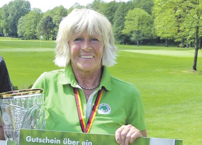 Mit eisernem Training gestartet: Dagmar Lehmann vom Golfclub Gifhorn wurde Niedersachsenmeisterin.