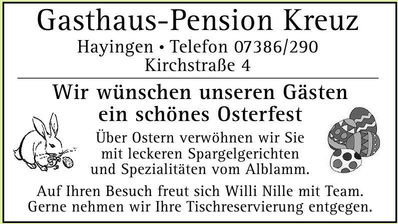 Gasthaus-Pension Kreuz