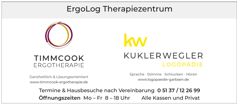 ErgoLog Therapiezentrum - Timmcook Ergotherapie