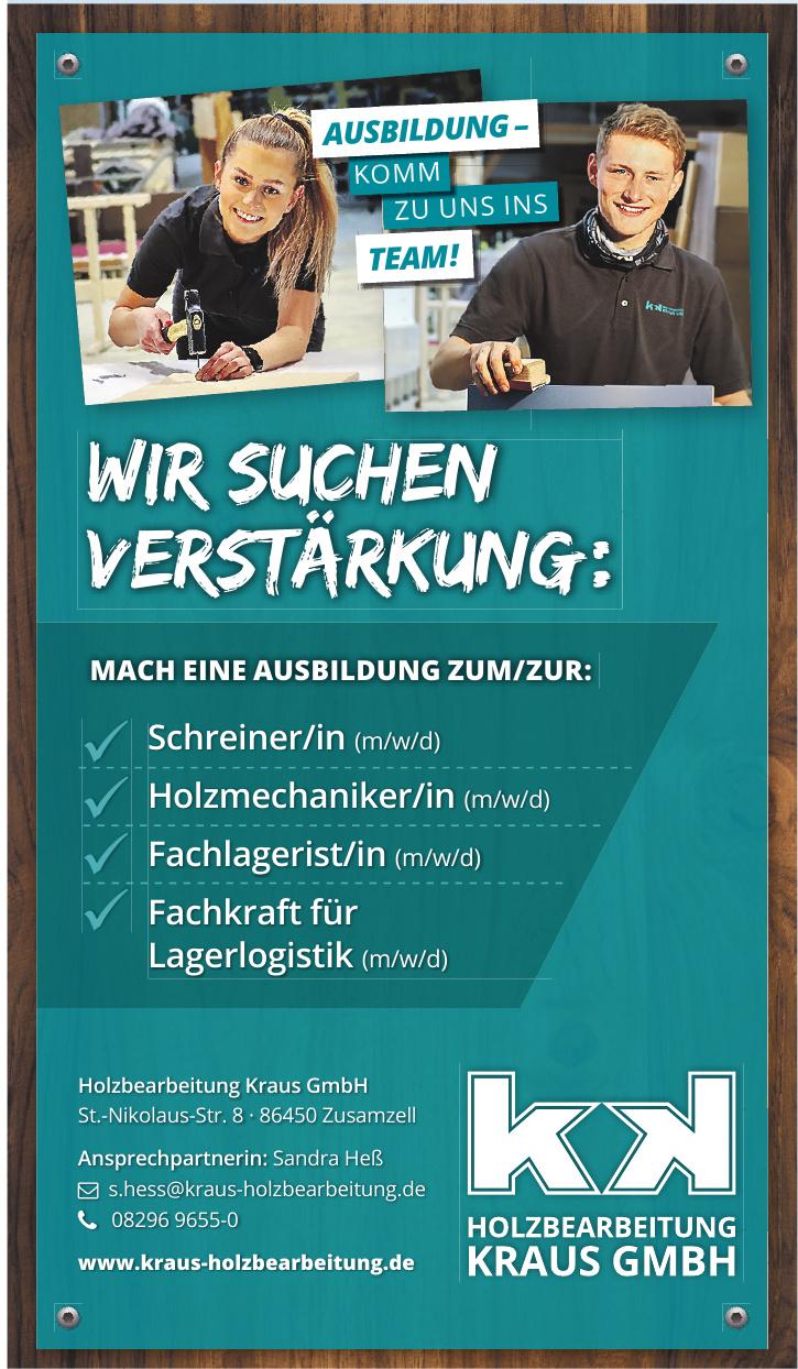 Holzbearbeitung Kraus GmbH
