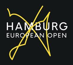 Hamburg European Logo, der Matchball des Finales von 2018.