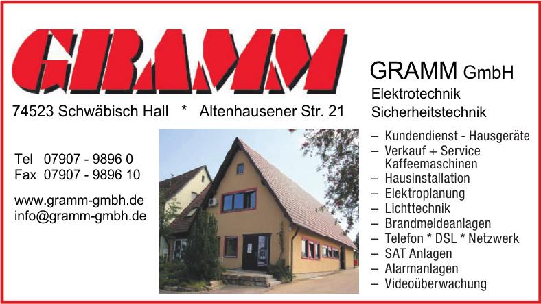 Gramm GmbH