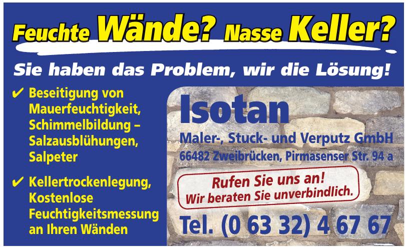 Isotan Maler-, Stuck- und Verputz GmbH