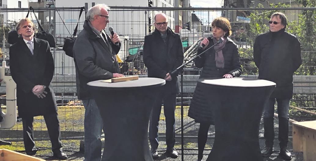 Die Kölner Oberbürgermeisterin Henriette Reker sprach im Rahmen der Gedenkveranstaltung