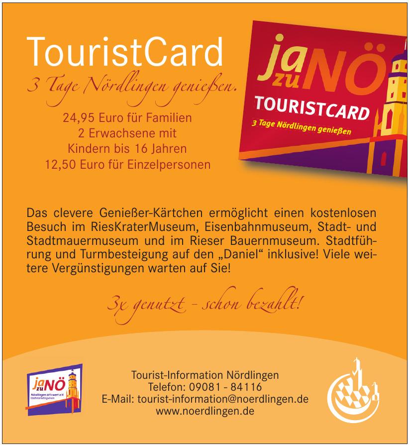 Tourist-Information Nördlingen